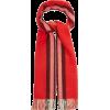 BURBERRY Reversible Icon-striped cashmer - Rękawiczki -