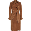 BURBERRY Suede Trench Coat 4,190 € - Jacket - coats -