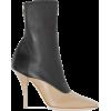 BURBERRY brown & black boot - Stivali -