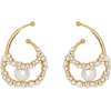 BURBERRY crystal ear cuffs - Uhani -