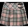 BURBERRY tartan skirt - Skirts -