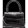 BY FAR Mini crocodile-embossed leather h - Kleine Taschen -
