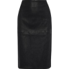 BY MALENE BIRGER Leather pencil skirt - Gonne -