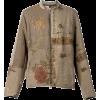 BY WALID silk printed jacket - Jacket - coats -
