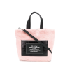 Bag with faux fur and faux leather - 手提包 -