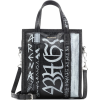 Balenciaga Bazar S Graffiti leather sho - Hand bag -