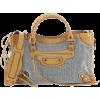 Balenciaga City Classic Studs Bag - Borse da viaggio -