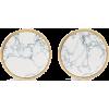 Balenciaga Gold-tone stone earrings - Naušnice -