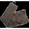 Balenciaga Wool Trousers - Spodnie Capri -