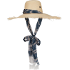 Bali Fascia Straw-Blend Sun Hat - Hat - $675.00