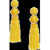 Ball Earrings Yellow - イヤリング -