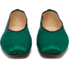 Ballet square-toe satin flats The Row - Flats -