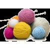 Ball of wool and knitting needles - Przedmioty -