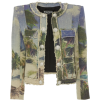 Balmain 4 Pocket Button Print Jacket - Jakne i kaputi -