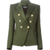 Balmain Fitted Blazer - Suits -
