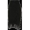 Balmain Fringed and sequined wraparound - Юбки - £1.40  ~ 1.58€