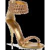 Balmain Golden Sandals - Classic shoes & Pumps -