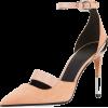 Balmain Suede Ankle-Strap d'Orsay Pumps - Scarpe classiche - $845.00  ~ 725.76€