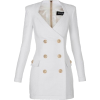 Balmain White Jacket - Jacket - coats -