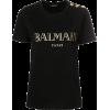 Balmain logo T-shirt - T-shirts -