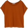 Basic brown Zara T shirt - T-shirts -