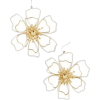 Baublebar Tierra Flower Drop Earrings - Naušnice -