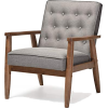 Baxton Studio Sorrento Mid-Century chair - Furniture -