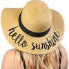 Beach Floppy Sun Hat - People - $16.00