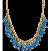 Beaded Fringe Seedbead Necklace - Necklaces - $14.99