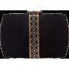 Beaded and Sequined Evening Bag - Schnalltaschen -