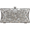 Beaded and Sequined Evening Bag - Borse con fibbia -