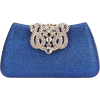 Beaded and Sequined Evening Bag - Torbe s kopčom -