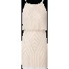 Beaded dress in nude - Vestiti -