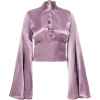 Beaufille Canes Satin blouse - Long sleeves shirts - $595.00