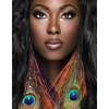 Beautiful Black Woman - Animals -