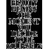Beauty Begins - Ostalo -
