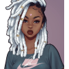 Beauty with dreads - Illustrations -