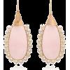 Beck Jewels Gold Quartz/Pearl Earrings - Earrings - $350.00