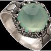 Becky Kelso Ring Green - Rings -