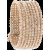 Beidge Pearls Bracelets Beige - Bracelets -