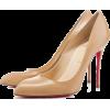 Beige Christian Louboutin Chia - Zapatos clásicos -