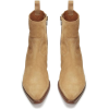 Beige. Camel. Boots - Boots -