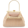 Beige. Knitted bag - Hand bag -