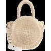 Beige. Knitted bag - Hand bag -