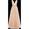 Beige. Pink. Dress - Dresses -