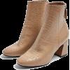 Beige - Boots -