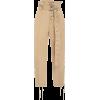 Beige - Pantalones Capri -