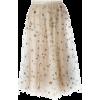 Beige gold glitter - Skirts -