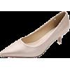 Beige pump court shoes - Klasične cipele -