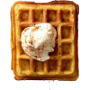 Belgian waffles - Živila -